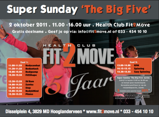 IMeventmanagement: Super Sunday The Big Five