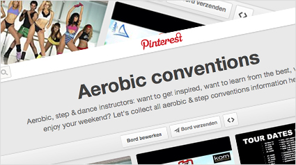 Let's find, pin & share aerobic conventions!