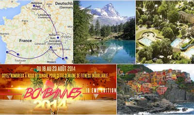 Traveling along Swiss, Italy and France