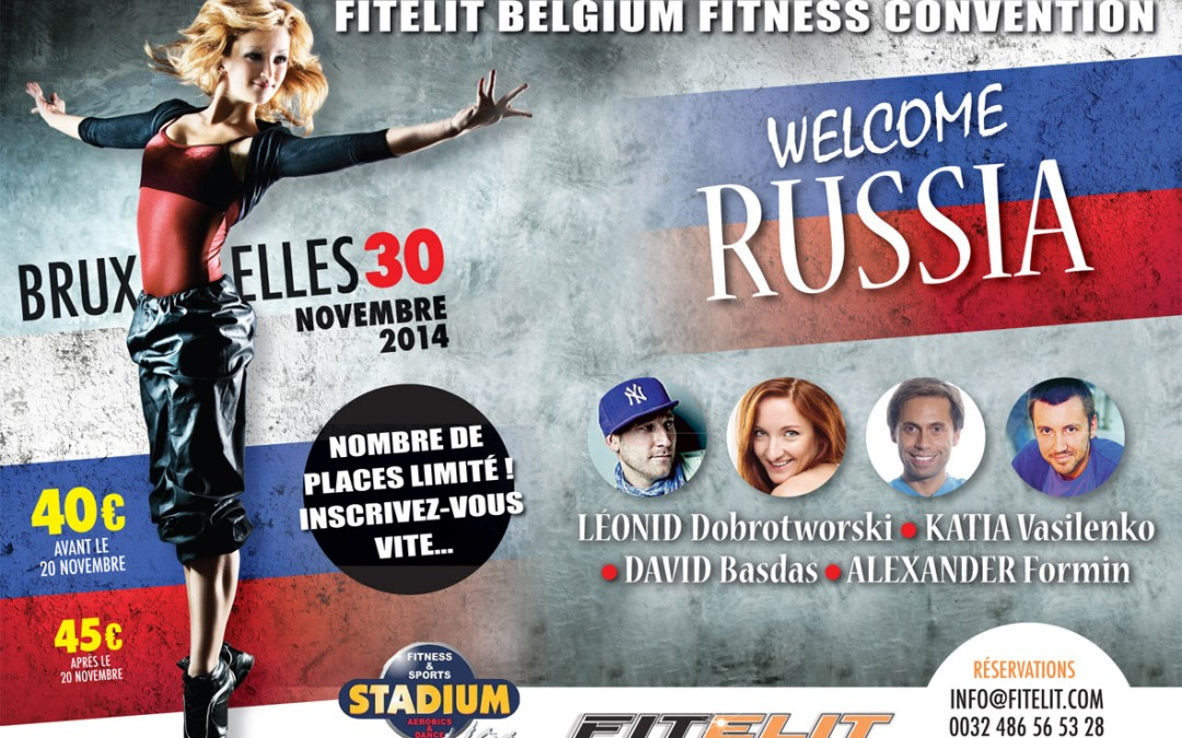 Let's go Russian at Fitelit!