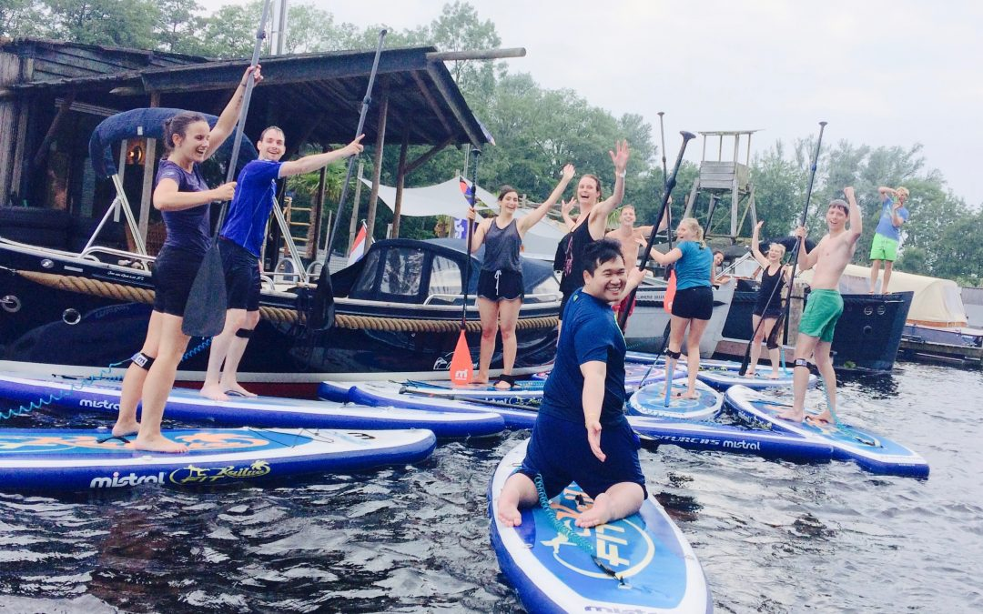 Sup classes at SUP Center Amsterdam